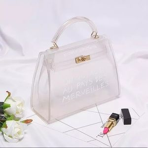 ❗️NEW❗️Clear Jelly Handbag SMALL